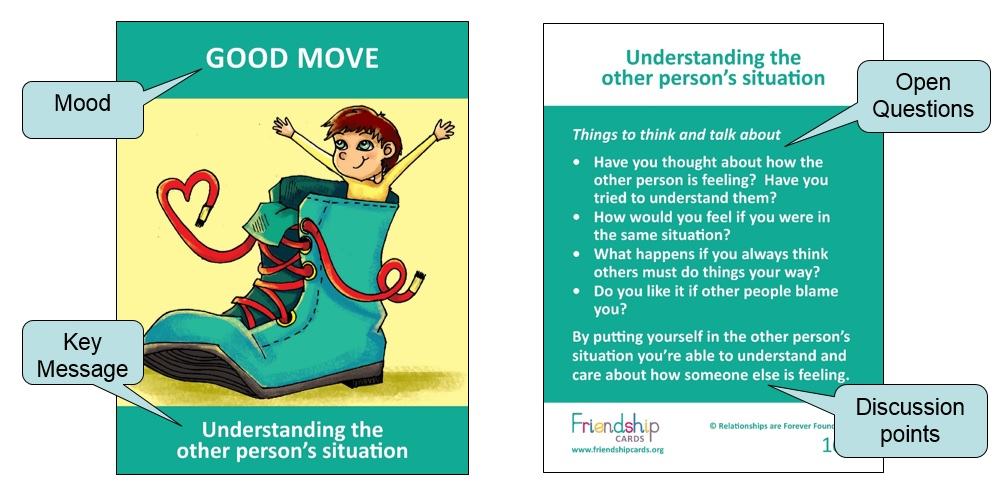 Emotional Literacy Skill Cards For Children Conflict Resolution